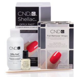 Offly Fast CND Shellac Removal Kit online shop nataya beauty manchester