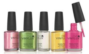 CND Vinylux bottles Manchester nataya beauty city centre